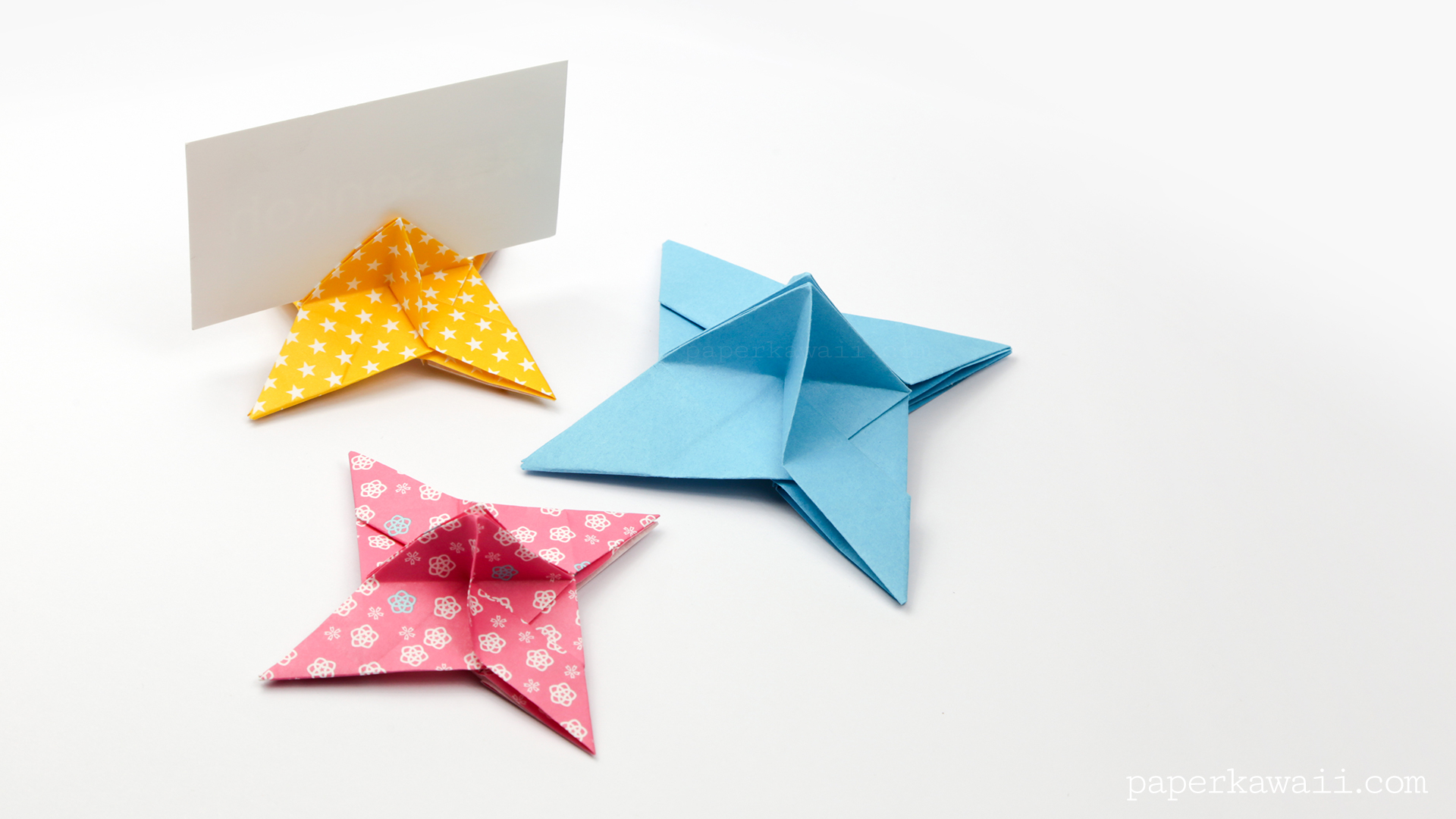 Make Christmas Place Card Holders
