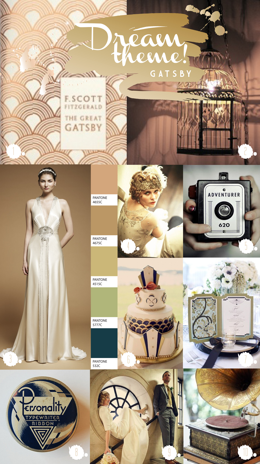 Gowns Great Gatsby Theme