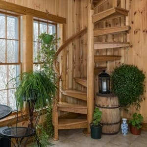 Compact Stairs For Small Spaces Paragon Stairs | Space Saver Staircase Plans | Stair Case | Storage | Spiral Staircases | Landing | Staircase Ideas