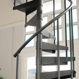 Spiral Stair Installation Spiral Staircase Kit Stair Kits | Installing A Spiral Staircase | 10 Foot | Glass | Drawing | Interior | Staircase 2