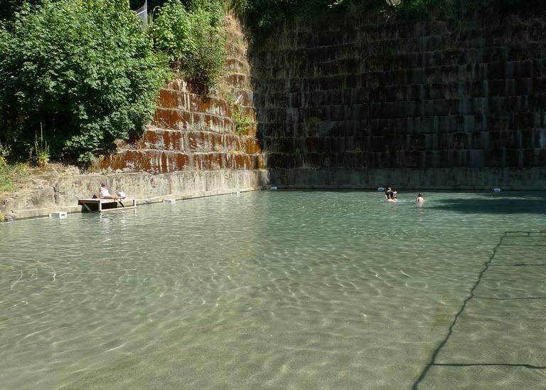 The Cold Deep Historic Fun Of Tenino S Quarry Pool