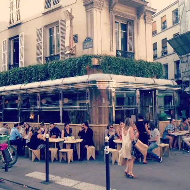 Restaurant Cafe Guitry Place Edouard Vii