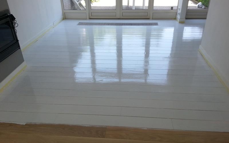 Grenen vloer wit verven elegant lamelparket with grenen vloer wit