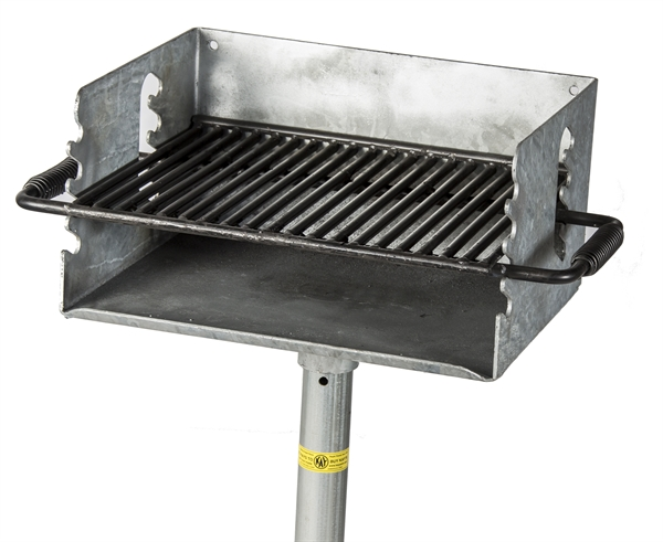 Barbecue Grills Ground Mount