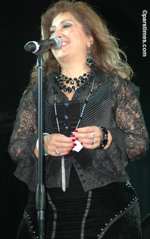 Leila Forouhar Mehregan Festival October 1 2005