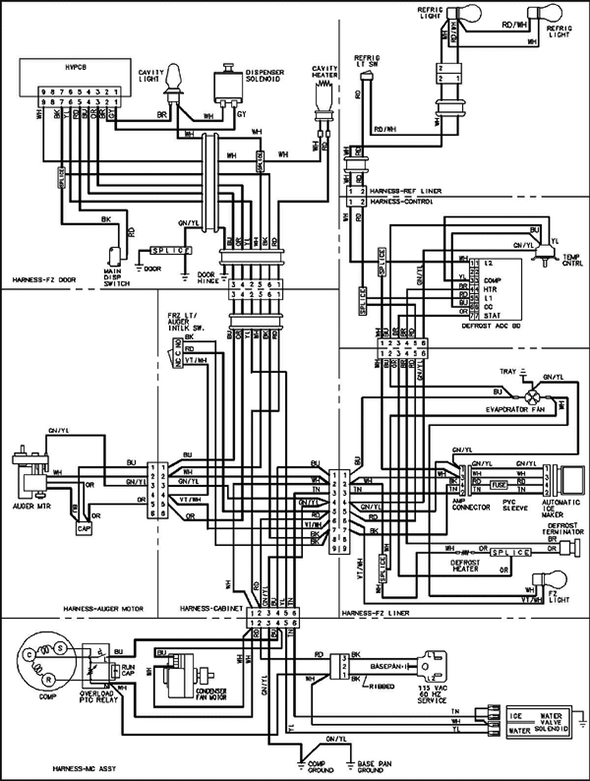 100 Watt Spotlight Wiring Diagram