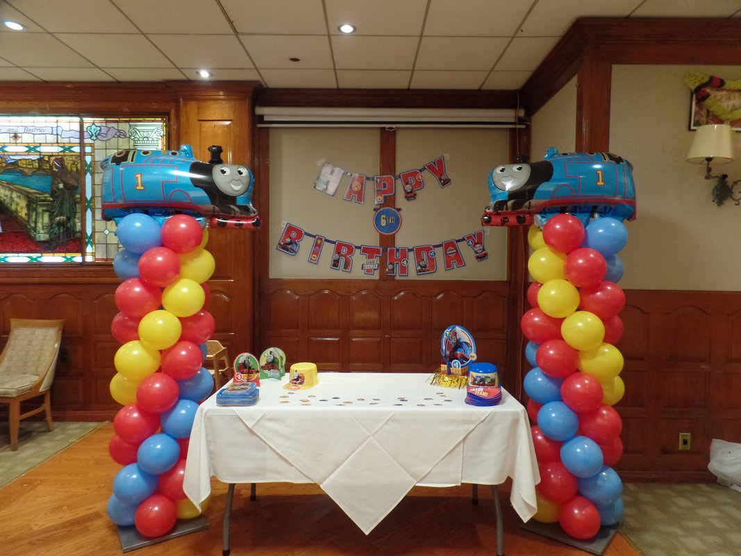 Thomas The Train Party Party Decorations By Teresa Hot