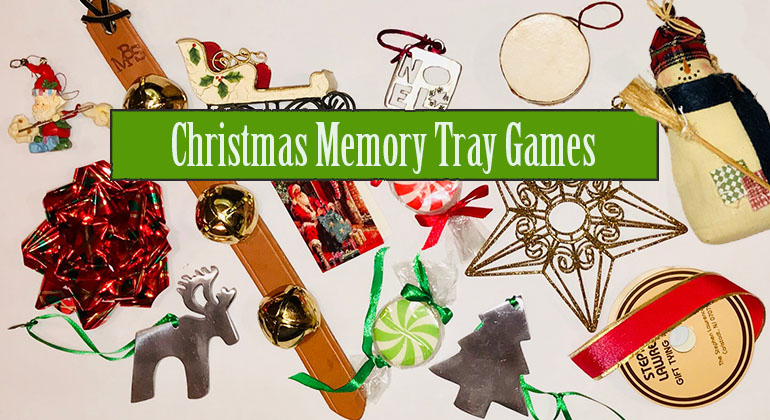 Christmas Memory Game   Christmas Tray Game Christmas Memory Tray Game