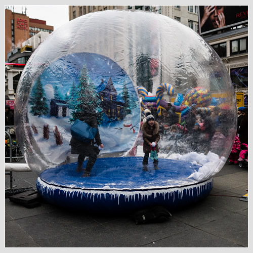 Globe Snow Human Rental