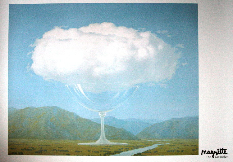 Magritte Painting First Rene