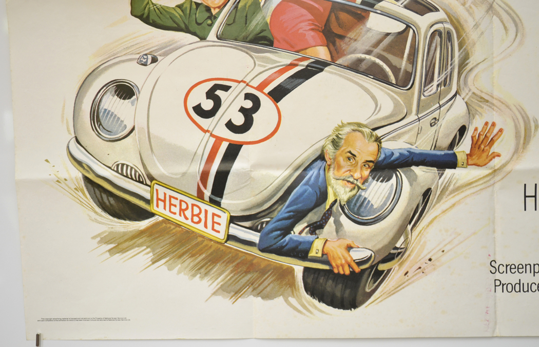 Herbie Rides Again - Original Cinema Movie Poster From ...