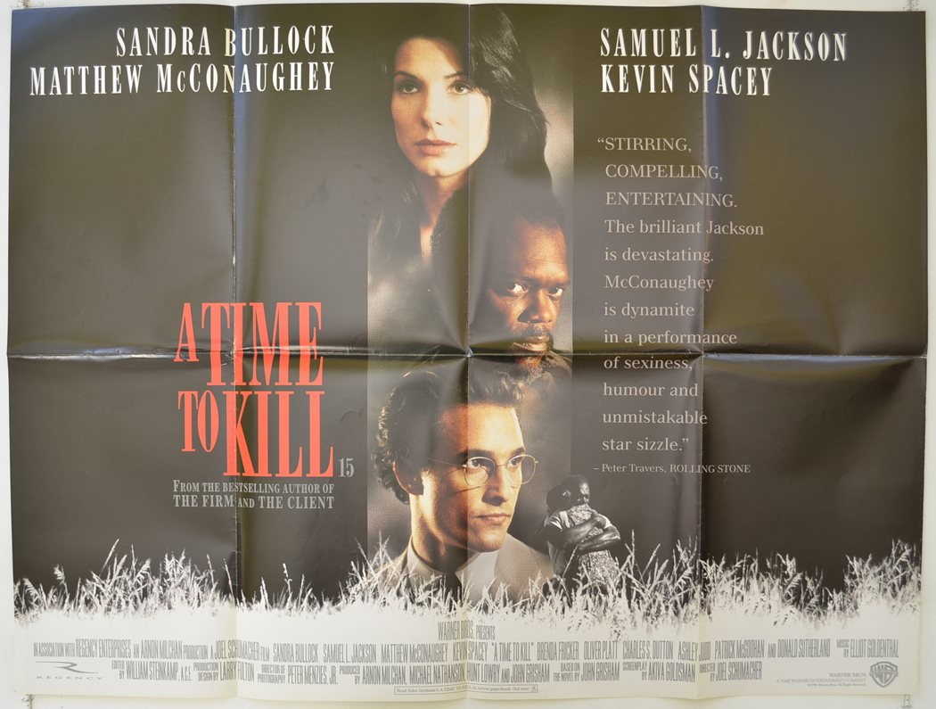 A Time To Kill Original Cinema Movie Poster From