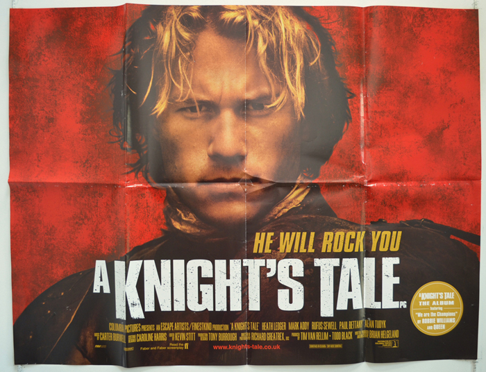 A Knight's Tale - Original Cinema Movie Poster From ...