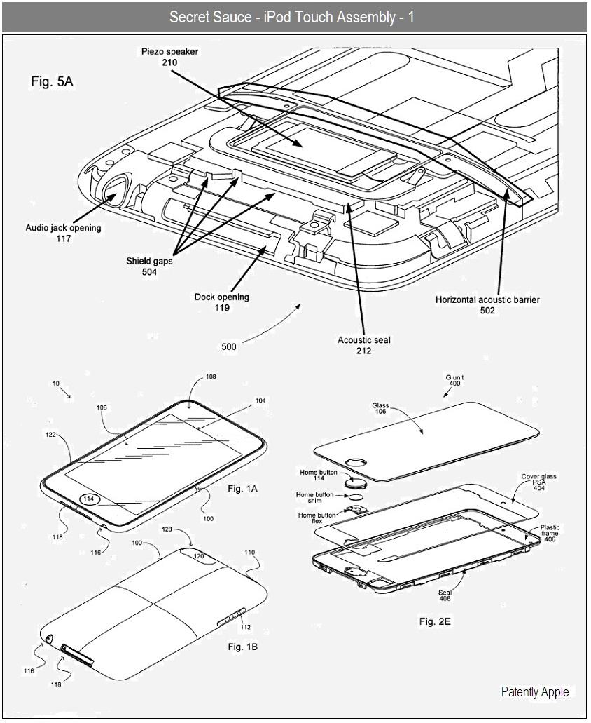 Apple reveals ipad display technology new iphone audio plug patently apple