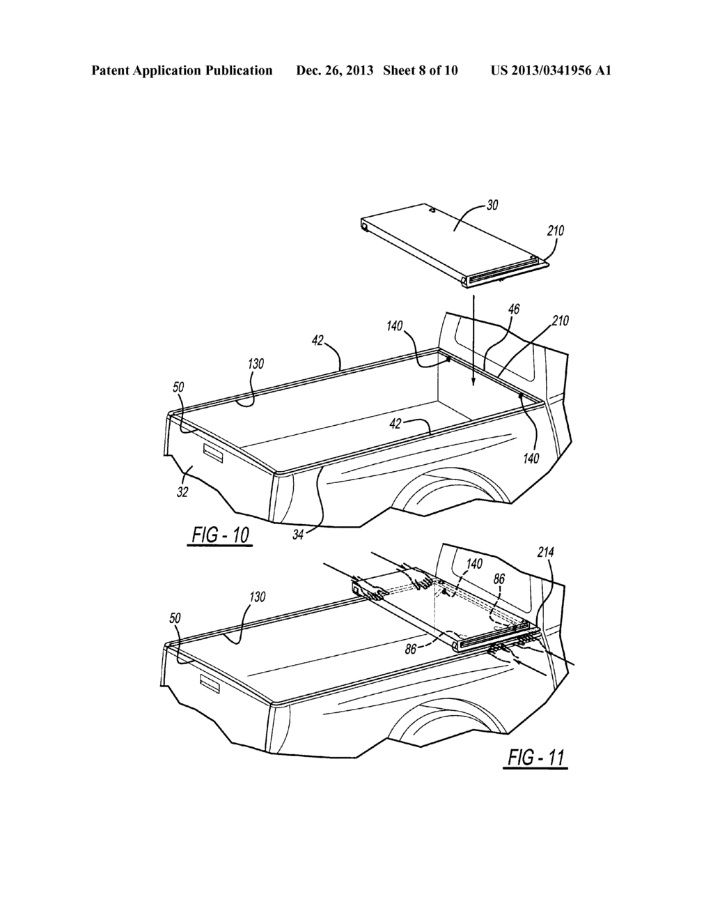 Tonneau cover apparatus for a pickup truck bed diagram