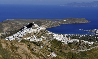 Serifos hiking trails