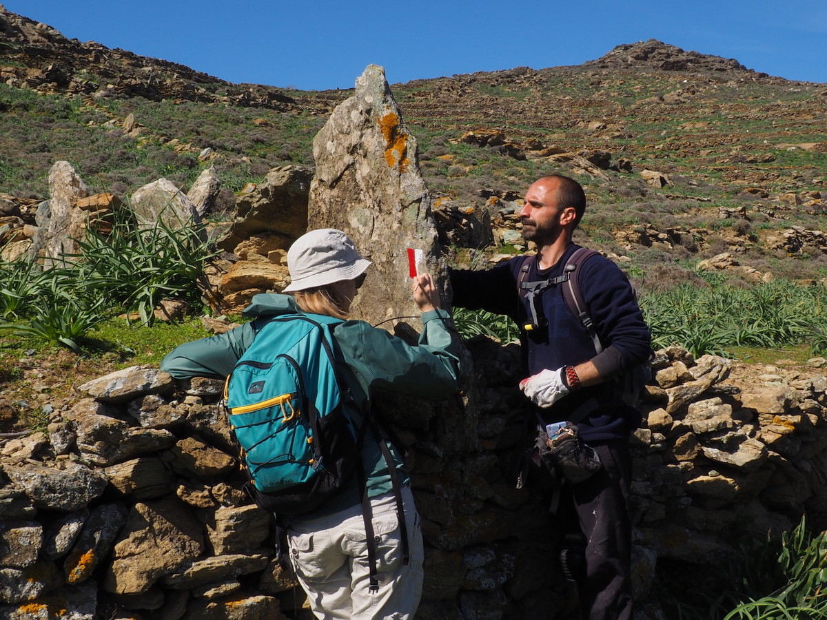 Tinos Trails way-marking