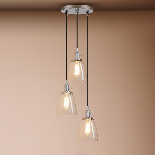 industrial cluster pendant lighting # 13