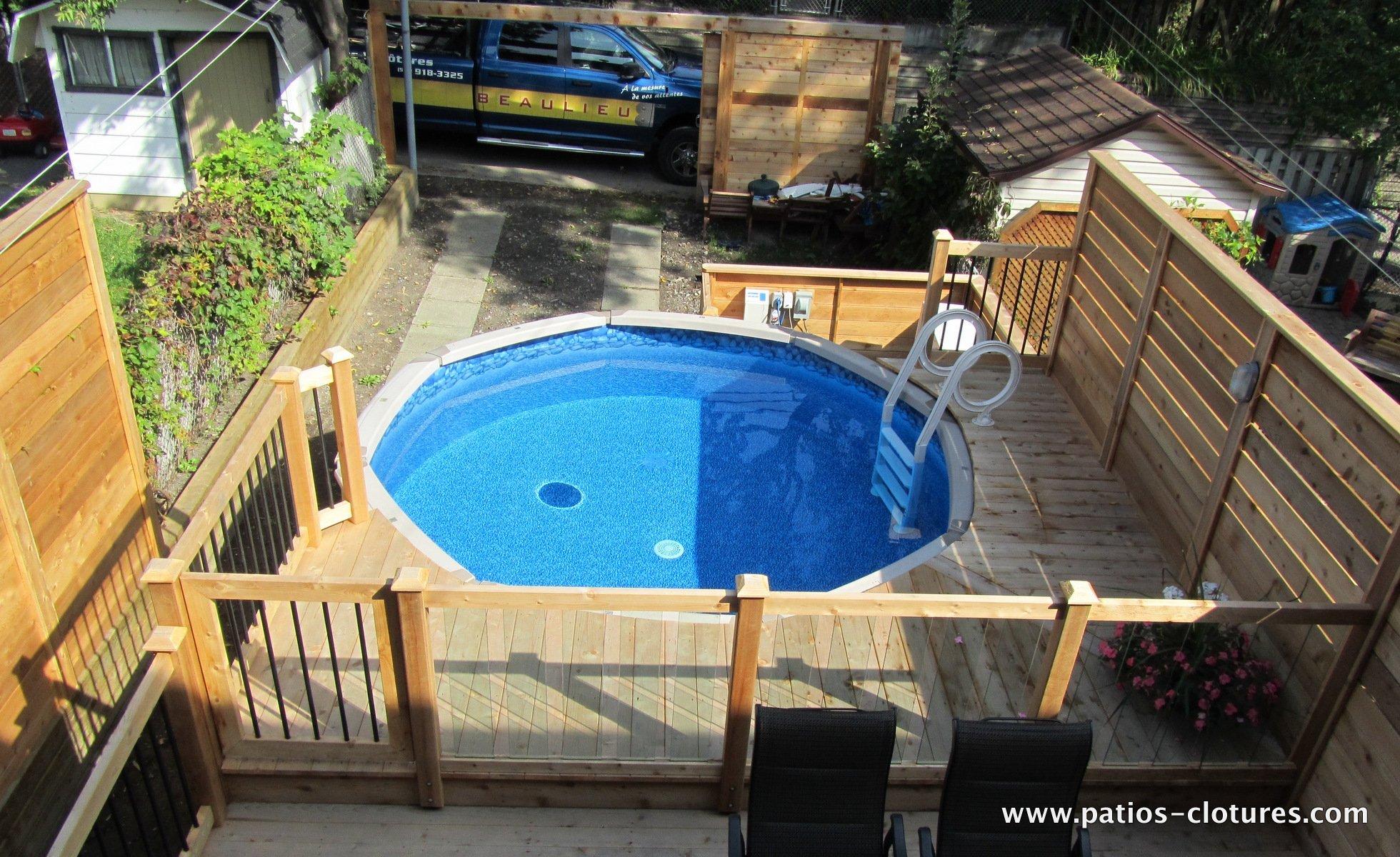 Ground Easy Above Decks Pool