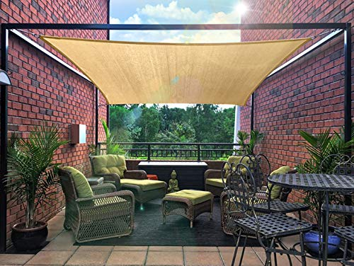 Diig Patio Sun Shade Sail Canopy 12 X 16 Rectangle
