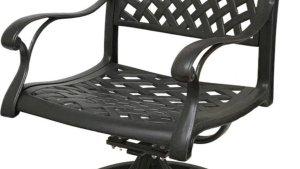 Coastlink Furniture Nevada 3 Piece Cast Aluminum Outdoor