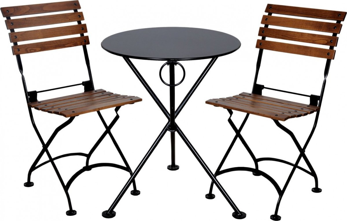 Furniture Designhouse Folding French Bistro Chairs