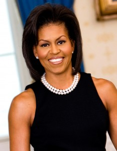 A healthy Michelle Obama
