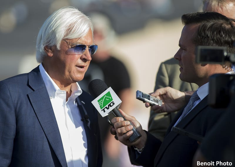 Baffert Now All Time Leading Trainer At Del Mar Horse