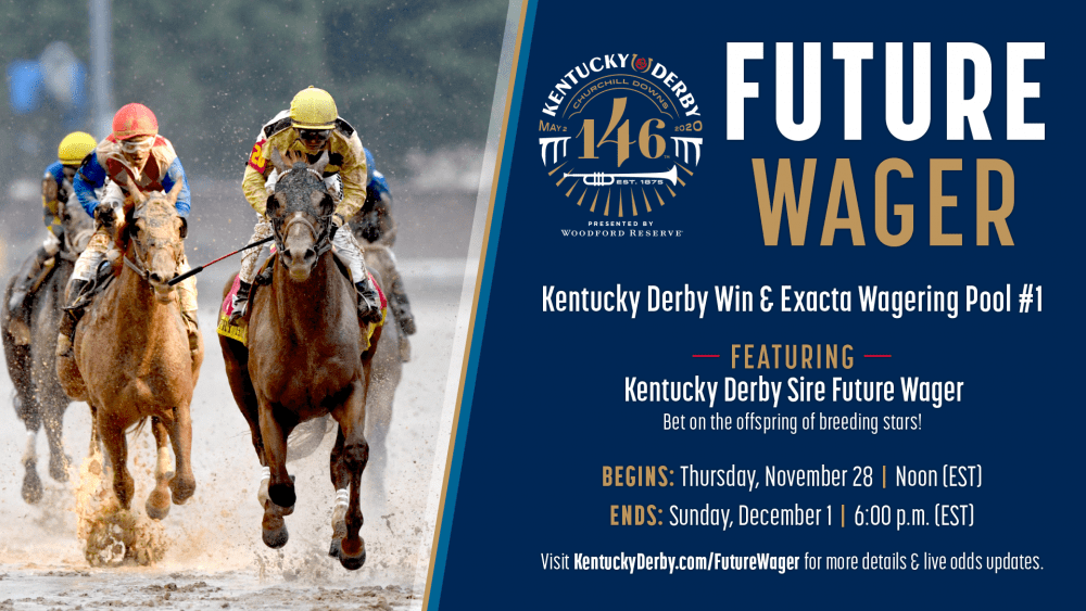 Kentucky Derby Future Wager Opens Thanksgiving Day Horse