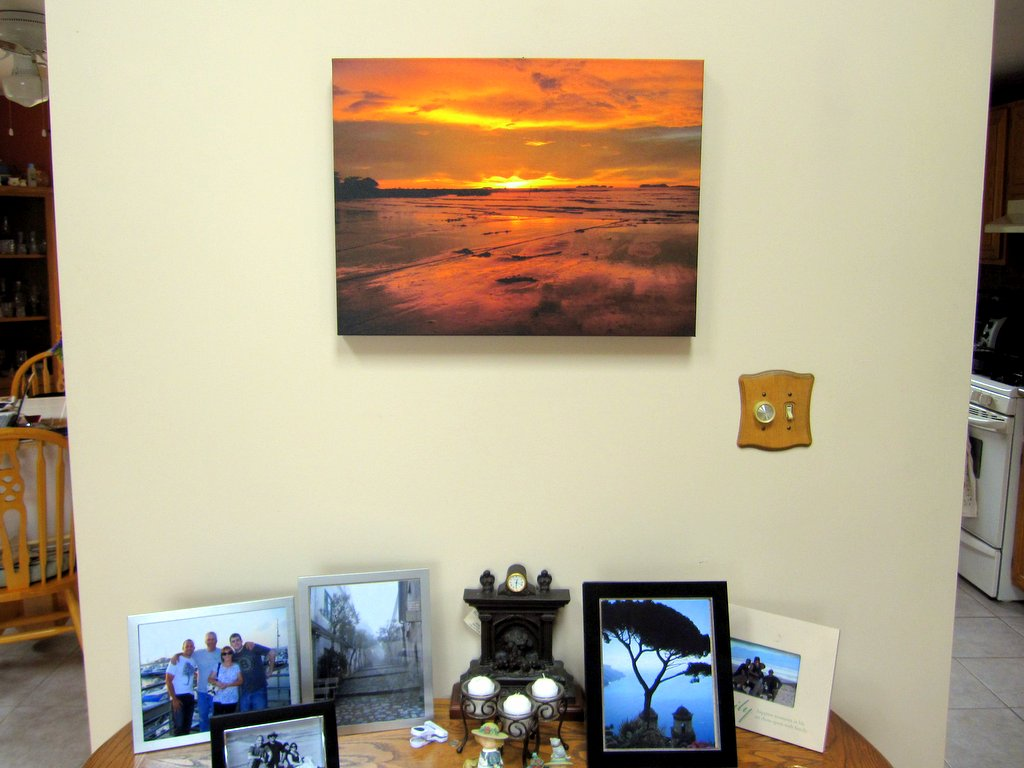 Easy Canvas Prints Review Hung