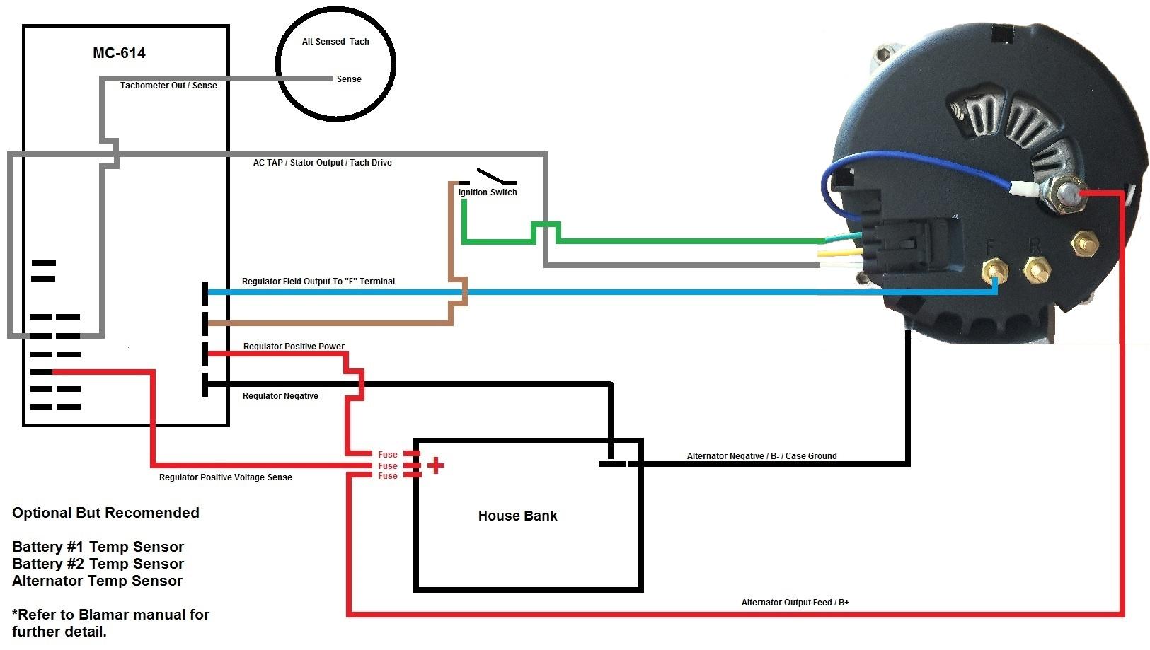 Balmar Marine Alternator Wiring Diagram
