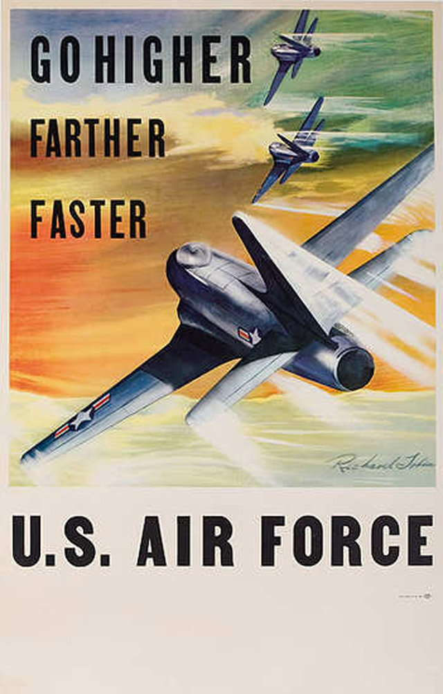 25 Awesome Vintage Air Force Recruitment Posters
