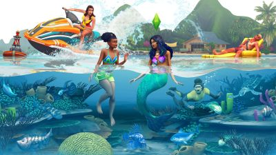 The Sims 4 Island Living lets you lecture litterbugs and ...