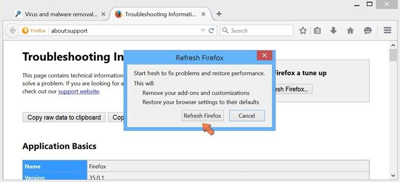 Firefox Browser Settings