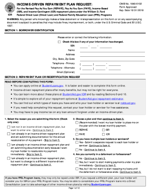 Income Repayment Form - Fill Online, Printable, Fillable ...