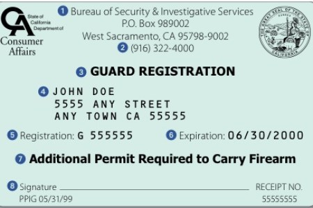 Free Professional Resume » requirements to become a security guard ...
