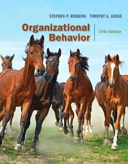 Robbins   Judge  Organizational Behavior  18th Edition   Pearson Organizational Behavior Plus 2017 MyLab Management with Pearson eText     Access Card Package  17th Edition