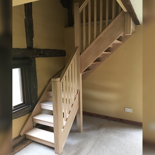 Oak Stairs White Staircase Manufactures Uk Pear Stairs | European Oak Stair Treads | Basement Stairs | Hardwax Oil | Lumber | Risers | Wood Stair Railing