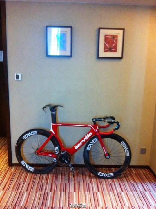 Fs Brand New Cervelo T4 Frameset 54cm Pedal Room
