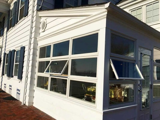 Before Amp After Sunroom Window Replacement