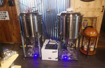Using An Aquarium Chiller And Glycol Reservoir To Cool A