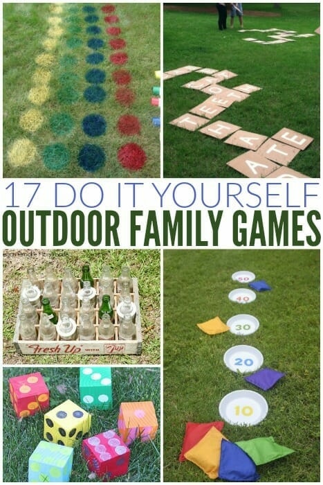 Outside Summer Party Games