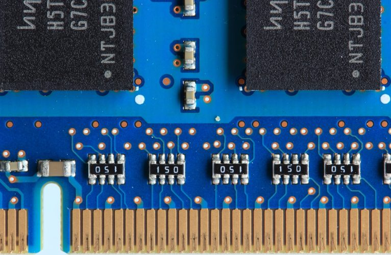 Gold Circuit Boards Computer