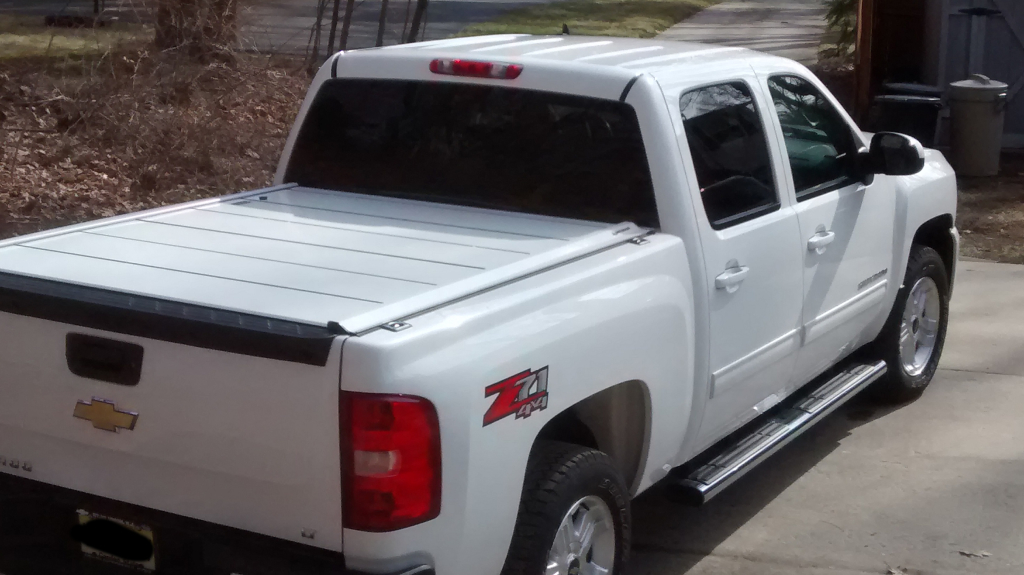 Peragon Retractable Truck Bed Covers For Chevrolet S 10