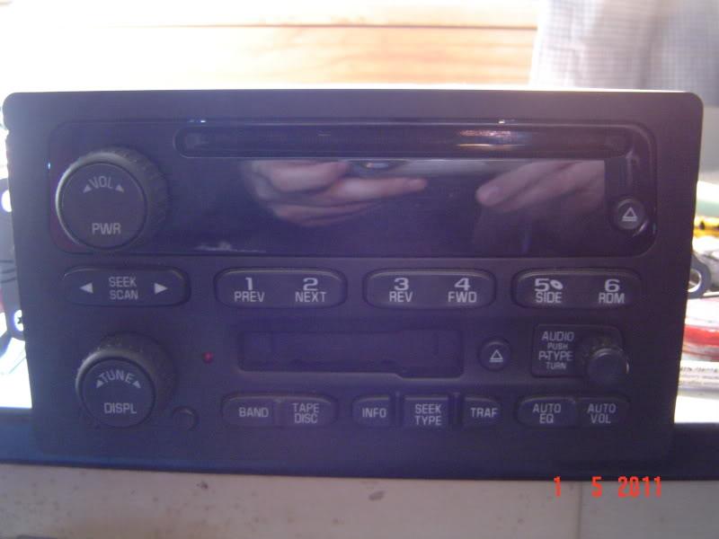 Factory Radio 94 Chevy S 10