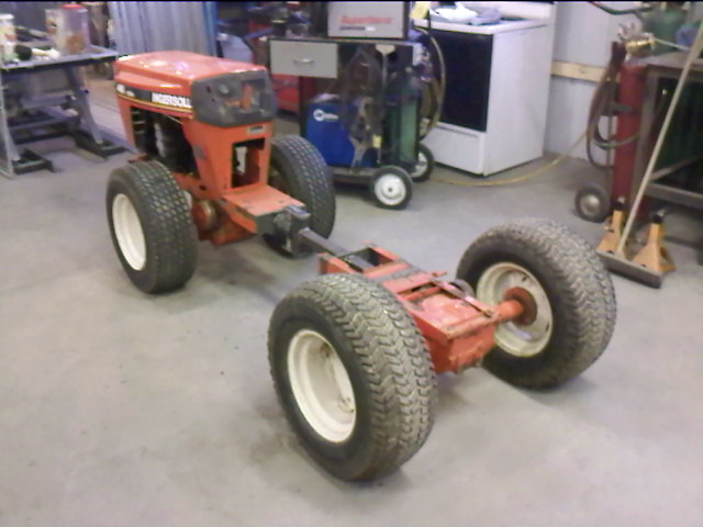 How Build Garden Tractor Front End Loader