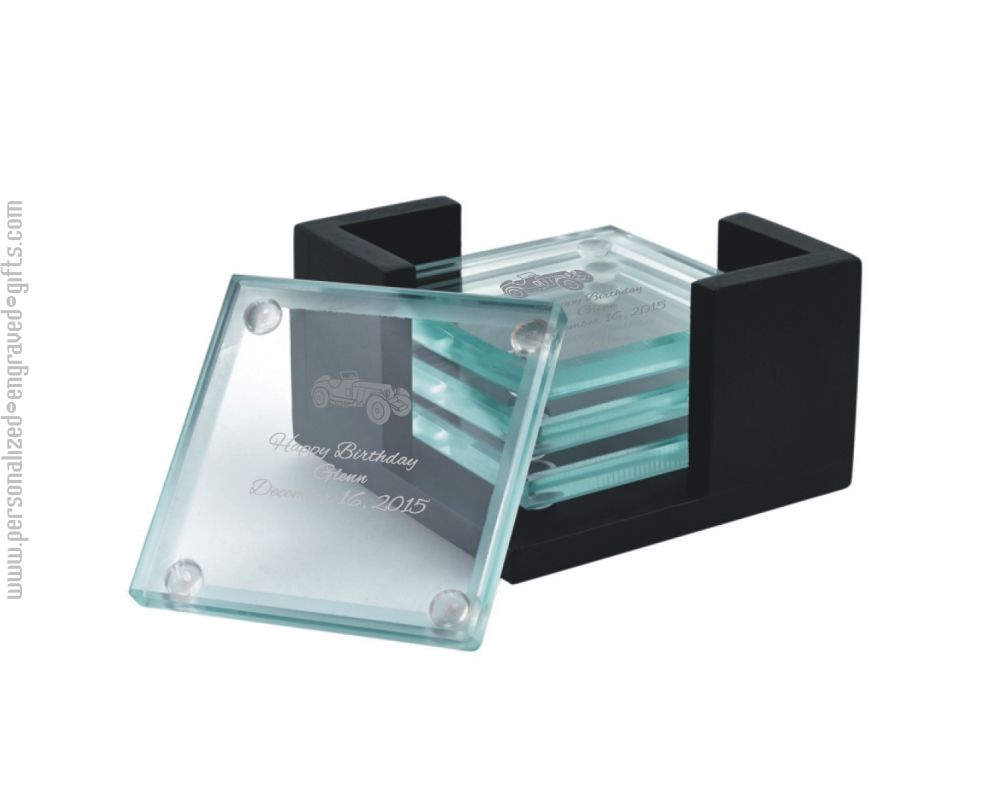 Desk Personalized Business Card Holder