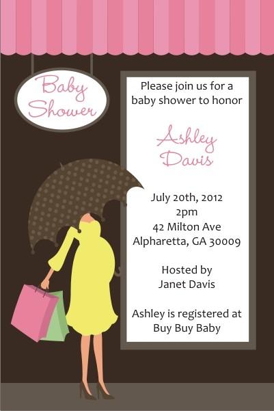 Walgreens Bridal Shower Invitations
