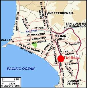 Los Delfines Hotel Lima Peru