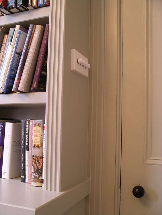 Custom Built Music Room Bookcase And Equipment Storage Cabinets By Peter Henderson Furniture